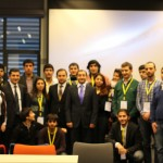 Azerbaijan students with Mr.Ambassador